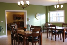 Dining room and hospitality room