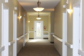 Hallway leading to rooms